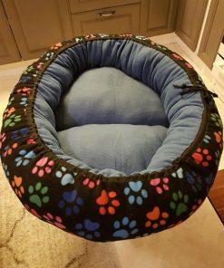 Mysbubbla 1 som är oval och har tassar som mönster, kan fås i olika storlekar