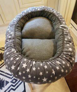 Mysbubbla 33 är en oval hundbädd som man kan få i olika storlekar. Vi skickar över hela landet mot en fraktavgift